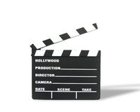 Movie Clapboard Royalty Free Stock Photos