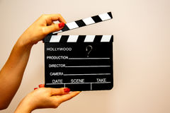 Movie Clapboard. Royalty Free Stock Image