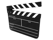 Movie clapboard isolated Royalty Free Stock Image