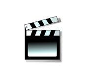 Movie clapper. Clapper / Clapboard /action Royalty Free Stock Photos