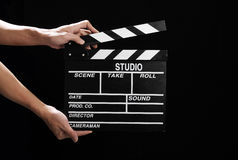 Movie Clapper Board Royalty Free Stock Image