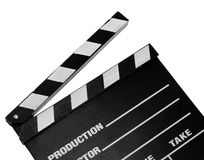 Movie clapper board Royalty Free Stock Images
