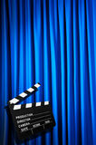 Movie clapper board Royalty Free Stock Photo