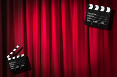 Movie clapper board Stock Photos