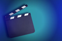 Movie clapper board Stock Photography