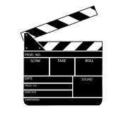Movie clapper board vector Royalty Free Stock Photo