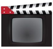 Movie clapper Stock Images