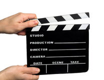 Movie clapperboard Royalty Free Stock Image