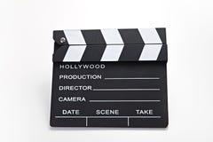 Movie clip Stock Photo