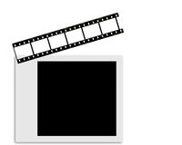 Movie clipboard Royalty Free Stock Photos
