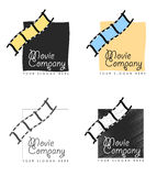 Movie company business card Royalty Free Stock Photo
