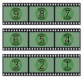 Movie countdown Royalty Free Stock Image