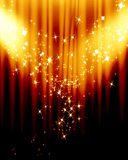 Movie curtain Royalty Free Stock Photography