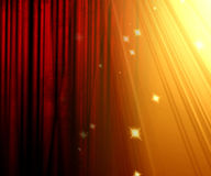 Movie curtain Royalty Free Stock Image