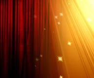 Movie curtain Royalty Free Stock Image