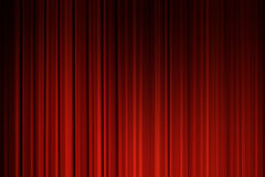 Movie curtains Stock Photo