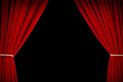 Movie Curtains Stock Photos