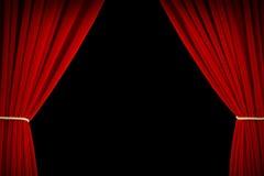 Wonderful Movie Curtains Stock Photos
