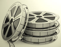 The movie Royalty Free Stock Photos
