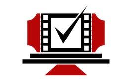 Movie Deal. Logo Design Template Vector Royalty Free Stock Photo