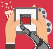 Movie digital design Royalty Free Stock Photos