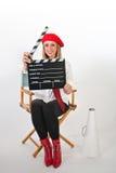 Movie Director Royalty Free Stock Photo