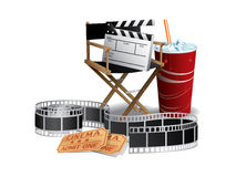 Movie director chair Stock Image