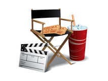 Movie director chair Stock Photos