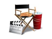 Movie director chair Stock Photos