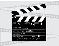 Movie director clapperboard Royalty Free Stock Photos