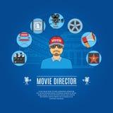 Movie Director Concept Stock Photo