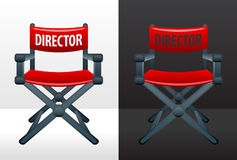 Movie director's chair Stock Photos