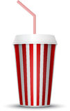 Movie drink cup Stock Photo