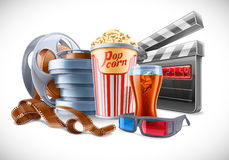 Movie Elements Royalty Free Stock Photography