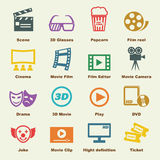 Movie elements Stock Images