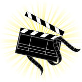 Movie equipment Stock Image