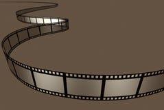 Movie Film. 3d rendered negative movie film Stock Photo