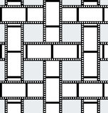 Movie film background Royalty Free Stock Photography