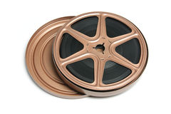 Movie Film Reel. On White Background stock image