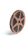 Movie Film Reel. On White Background stock photography