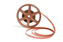 Movie Film Reel Royalty Free Stock Photography