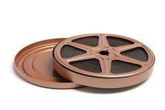 Movie Film Reel. On White Background royalty free stock photo