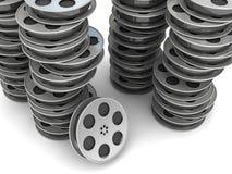Movie Film Reel stock illustration
