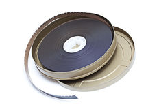 Movie Film Reel Stock Image