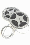 Movie film reel. Old 8mm movie film reel stock images