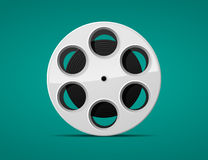 Movie film reel Stock Photo