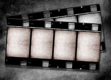 Movie Film reel. 2D digital art Stock Photos