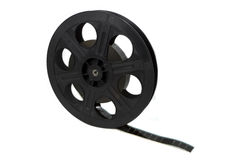 Movie Film Spool Royalty Free Stock Image