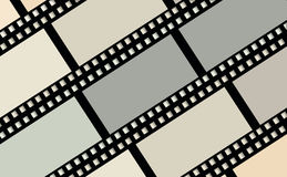 Movie films.Background. Background of movie films.Illustration Stock Images