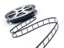 Movie films spool Royalty Free Stock Photos